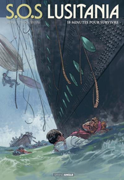 S.O.S. Lusitania, T2, 18 minutes pour survivre Couverture du livre