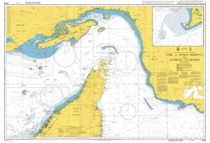 Admiralty Chart N° 2888