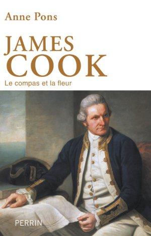 James Cook, Le compas et la fleur Couverture du livre