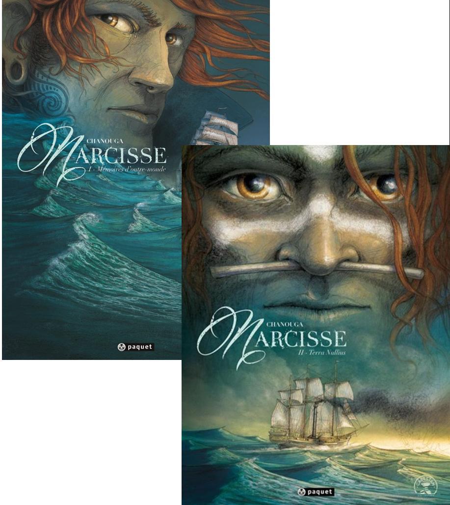 Narcisse : tome 1, Mémoires d'outre-monde - tome 2, Terra Nullius Couverture du livre